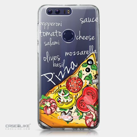 Huawei Honor 8 case Pizza 4822 | CASEiLIKE.com