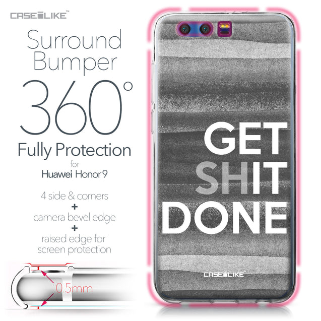 Huawei Honor 9 case Quote 2429 Bumper Case Protection | CASEiLIKE.com
