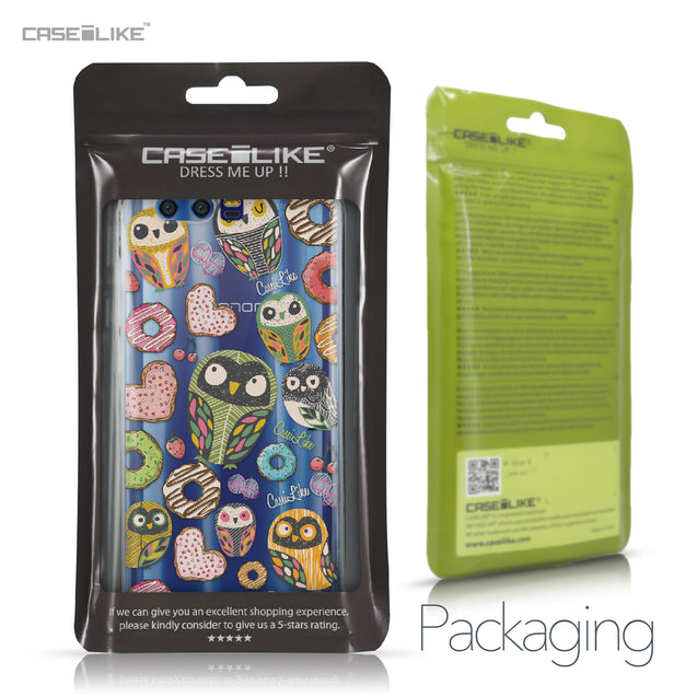 Huawei Honor 9 case Owl Graphic Design 3315 Retail Packaging | CASEiLIKE.com