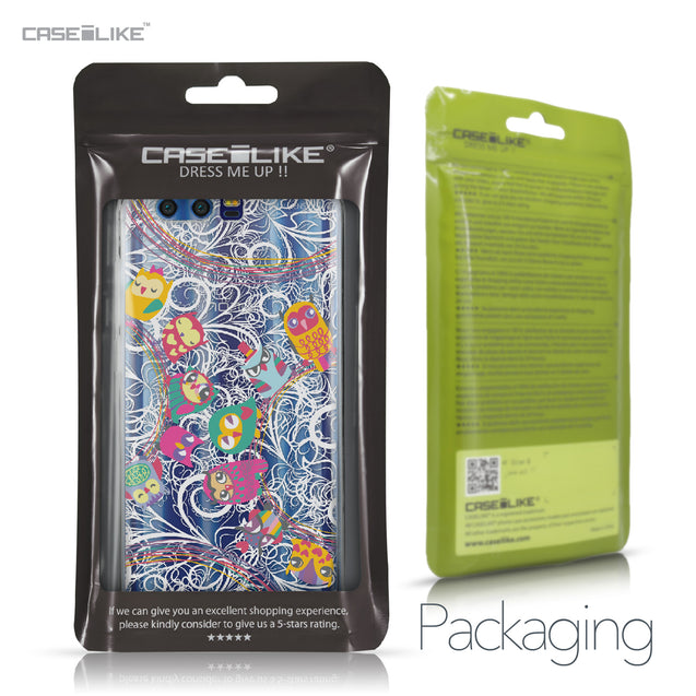Huawei Honor 9 case Owl Graphic Design 3316 Retail Packaging | CASEiLIKE.com