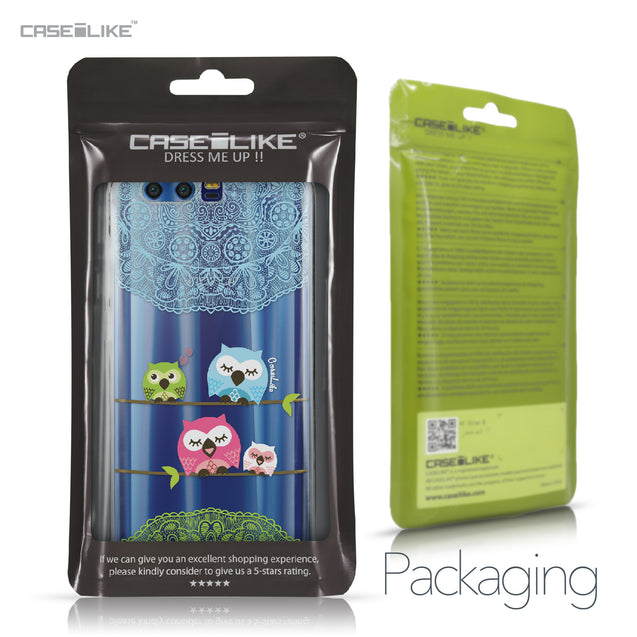 Huawei Honor 9 case Owl Graphic Design 3318 Retail Packaging | CASEiLIKE.com