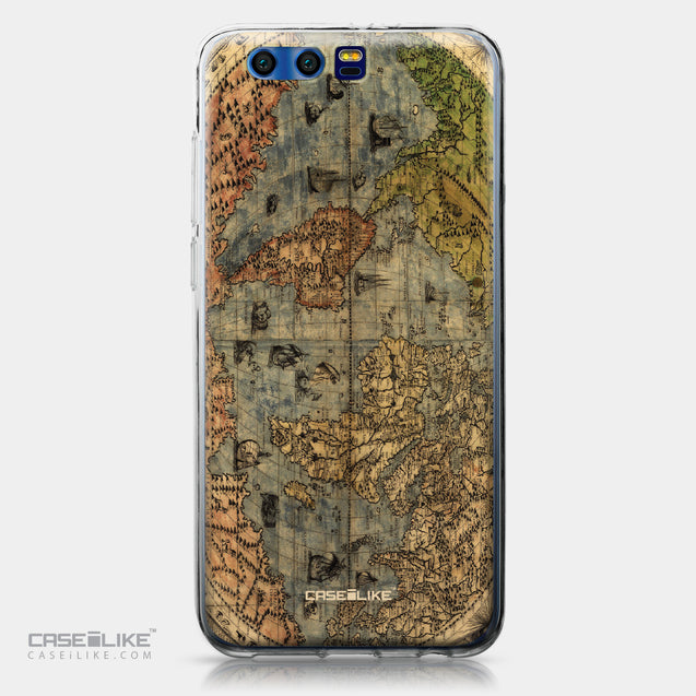 Huawei Honor 9 case World Map Vintage 4608 | CASEiLIKE.com