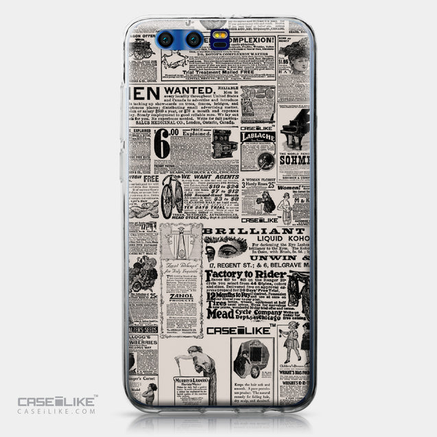 Huawei Honor 9 case Vintage Newspaper Advertising 4818 | CASEiLIKE.com