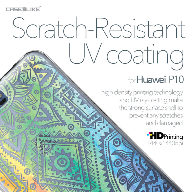 Huawei P10 case Indian Line Art 2064 with UV-Coating Scratch-Resistant Case | CASEiLIKE.com