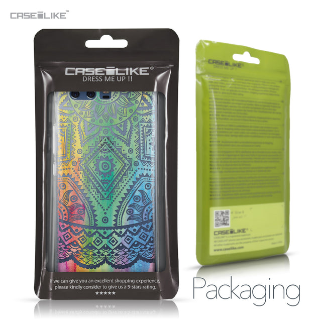 Huawei P10 case Indian Line Art 2064 Retail Packaging | CASEiLIKE.com