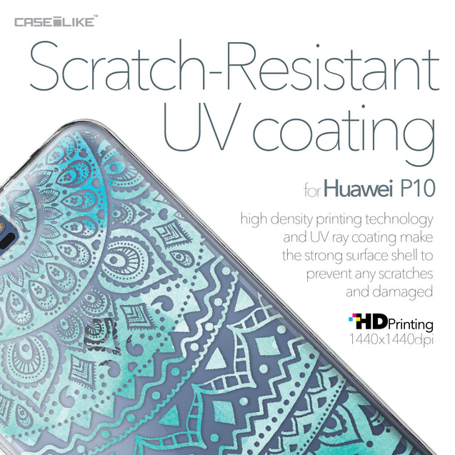 Huawei P10 case Indian Line Art 2066 with UV-Coating Scratch-Resistant Case | CASEiLIKE.com