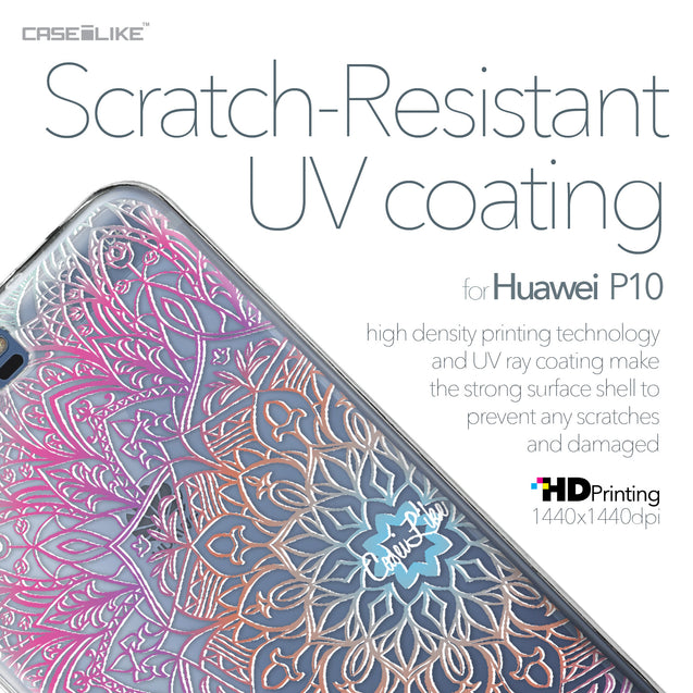 Huawei P10 case Mandala Art 2090 with UV-Coating Scratch-Resistant Case | CASEiLIKE.com
