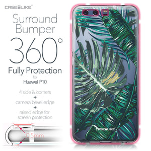 Huawei P10 case Tropical Palm Tree 2238 Bumper Case Protection | CASEiLIKE.com