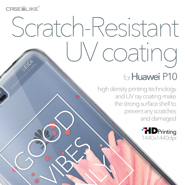 Huawei P10 case Gerbera 2258 with UV-Coating Scratch-Resistant Case | CASEiLIKE.com