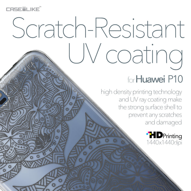 Huawei P10 case Mandala Art 2304 with UV-Coating Scratch-Resistant Case | CASEiLIKE.com