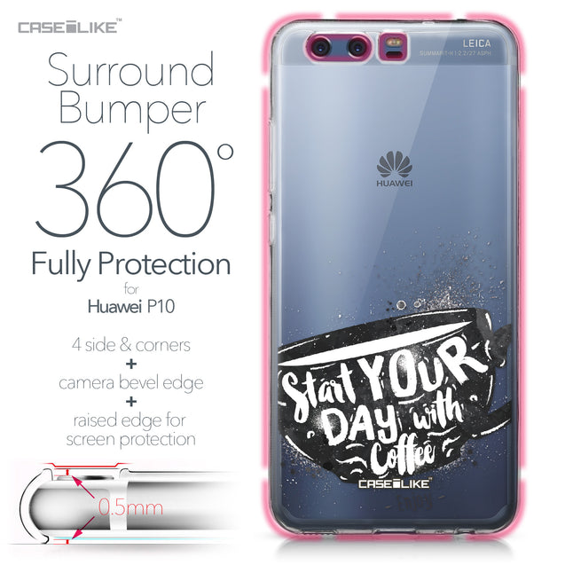 Huawei P10 case Quote 2402 Bumper Case Protection | CASEiLIKE.com