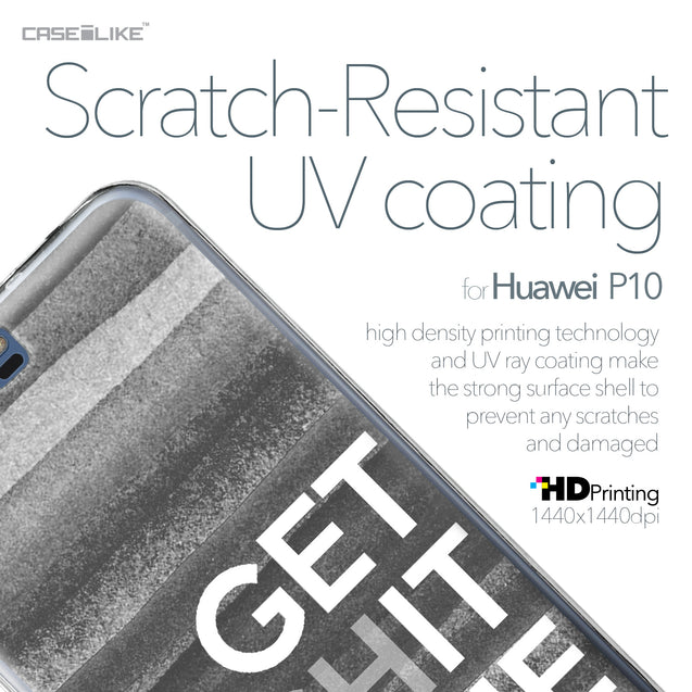 Huawei P10 case Quote 2429 with UV-Coating Scratch-Resistant Case | CASEiLIKE.com