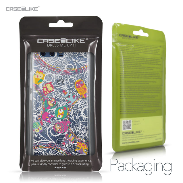 Huawei P10 case Owl Graphic Design 3316 Retail Packaging | CASEiLIKE.com