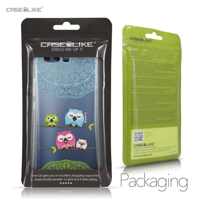Huawei P10 case Owl Graphic Design 3318 Retail Packaging | CASEiLIKE.com