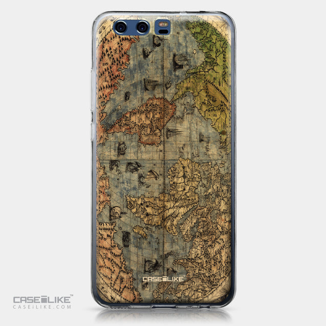 Huawei P10 case World Map Vintage 4608 | CASEiLIKE.com
