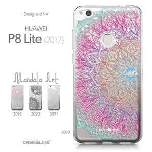 Huawei P8 Lite 2017 / P9 Lite 2017 / Honor 8 Lite / Nova Lite / GR3 2017 case Mandala Art 2090 Collection | CASEiLIKE.com