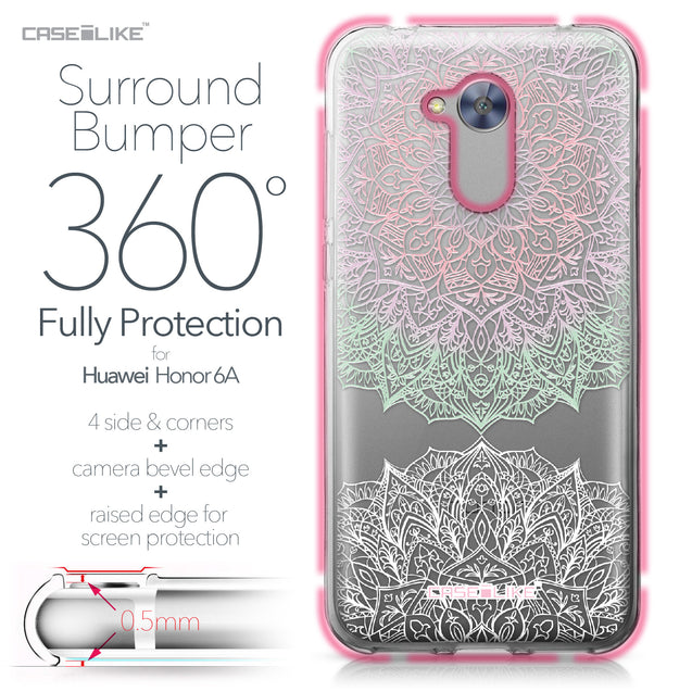 Huawei Honor 6A case Mandala Art 2092 Bumper Case Protection | CASEiLIKE.com
