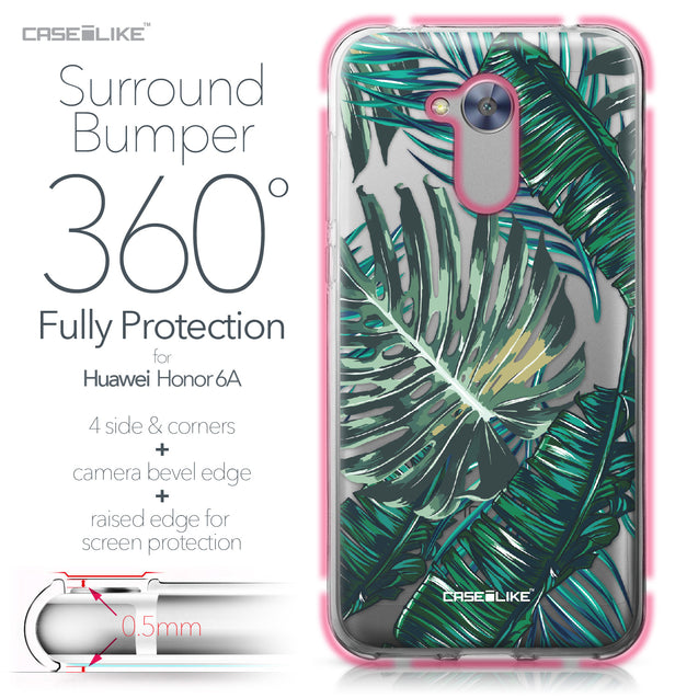 Huawei Honor 6A case Tropical Palm Tree 2238 Bumper Case Protection | CASEiLIKE.com