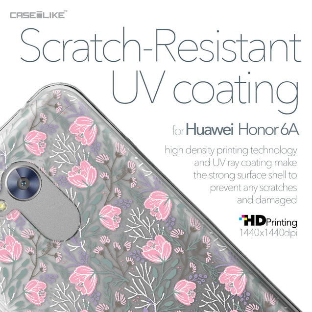 Huawei Honor 6A case Flowers Herbs 2246 with UV-Coating Scratch-Resistant Case | CASEiLIKE.com