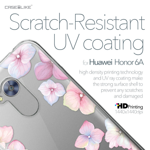 Huawei Honor 6A case Hydrangea 2257 with UV-Coating Scratch-Resistant Case | CASEiLIKE.com