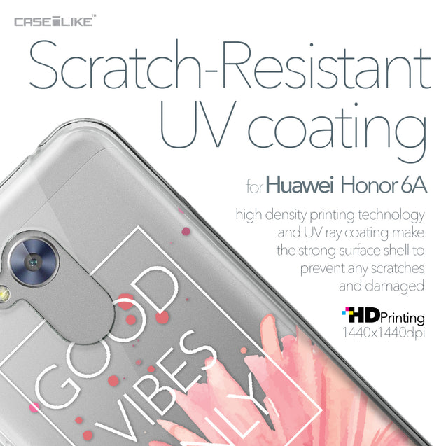 Huawei Honor 6A case Gerbera 2258 with UV-Coating Scratch-Resistant Case | CASEiLIKE.com