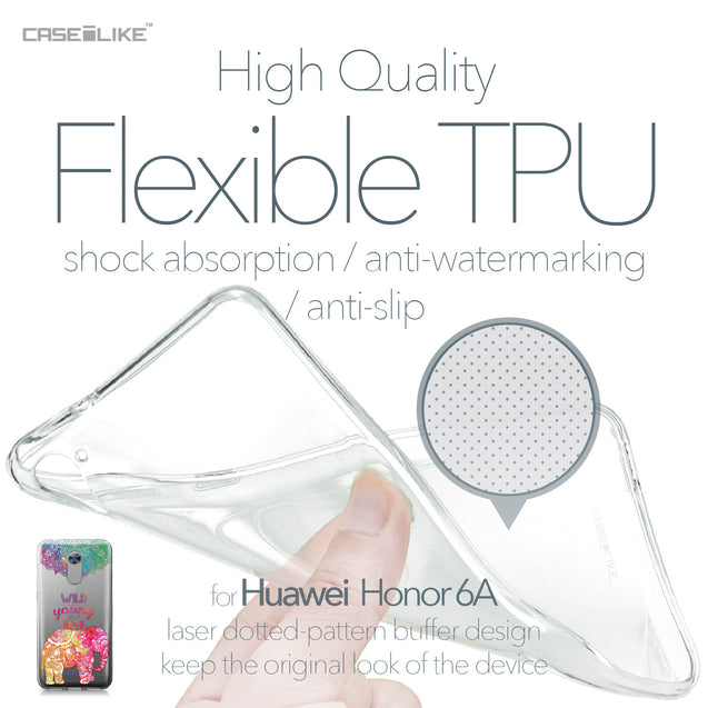 Huawei Honor 6A case Mandala Art 2302 Soft Gel Silicone Case | CASEiLIKE.com