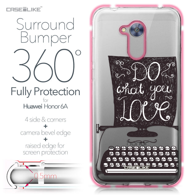 Huawei Honor 6A case Quote 2400 Bumper Case Protection | CASEiLIKE.com