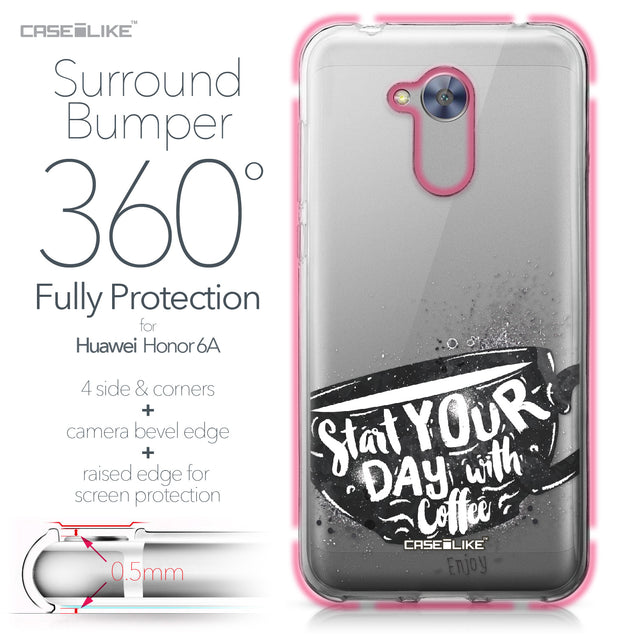Huawei Honor 6A case Quote 2402 Bumper Case Protection | CASEiLIKE.com