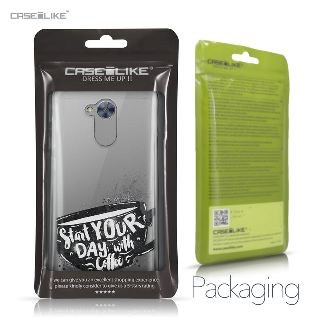 Huawei Honor 6A case Quote 2402 Retail Packaging | CASEiLIKE.com