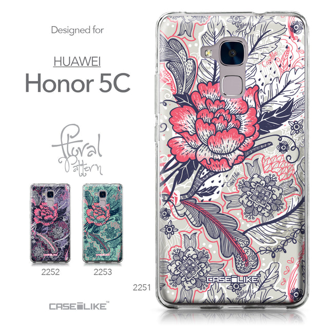 Huawei Honor 5C / Honor 7 Lite / GT3 case Vintage Roses and Feathers Beige 2251 Collection | CASEiLIKE.com
