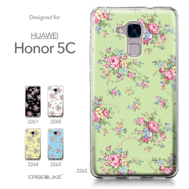 Huawei Honor 5C / Honor 7 Lite / GT3 case Floral Rose Classic 2262 Collection | CASEiLIKE.com