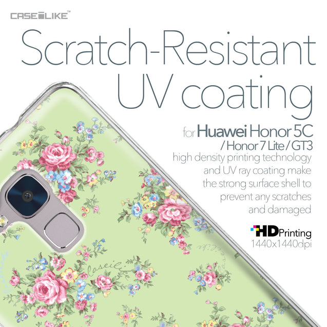 Huawei Honor 5C / Honor 7 Lite / GT3 case Floral Rose Classic 2262 with UV-Coating Scratch-Resistant Case | CASEiLIKE.com