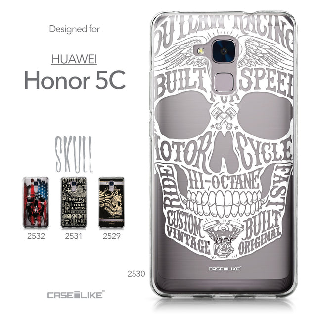 Huawei Honor 5C / Honor 7 Lite / GT3 case Art of Skull 2530 Collection | CASEiLIKE.com