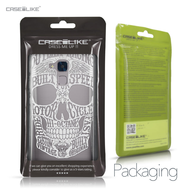 Huawei Honor 5C / Honor 7 Lite / GT3 case Art of Skull 2530 Retail Packaging | CASEiLIKE.com