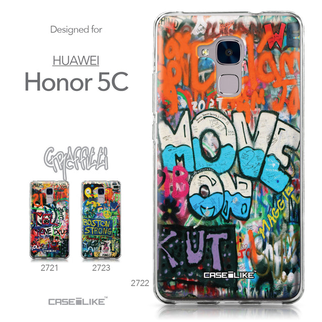 Huawei Honor 5C / Honor 7 Lite / GT3 case Graffiti 2722 Collection | CASEiLIKE.com