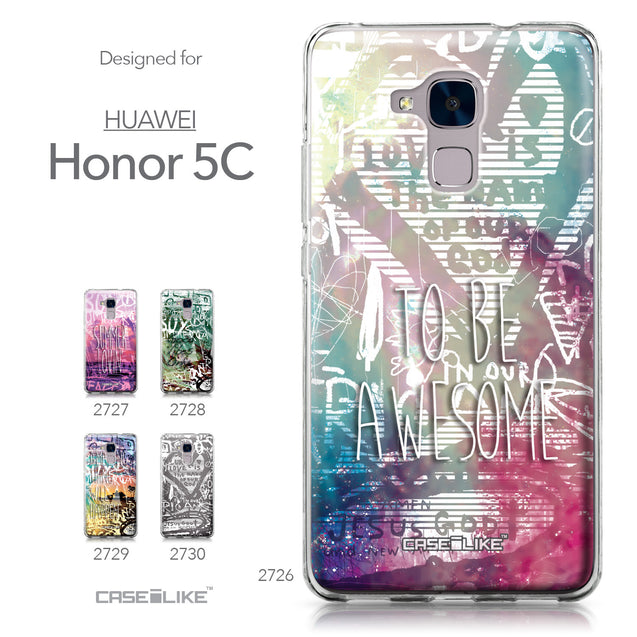 Huawei Honor 5C / Honor 7 Lite / GT3 case Graffiti 2726 Collection | CASEiLIKE.com