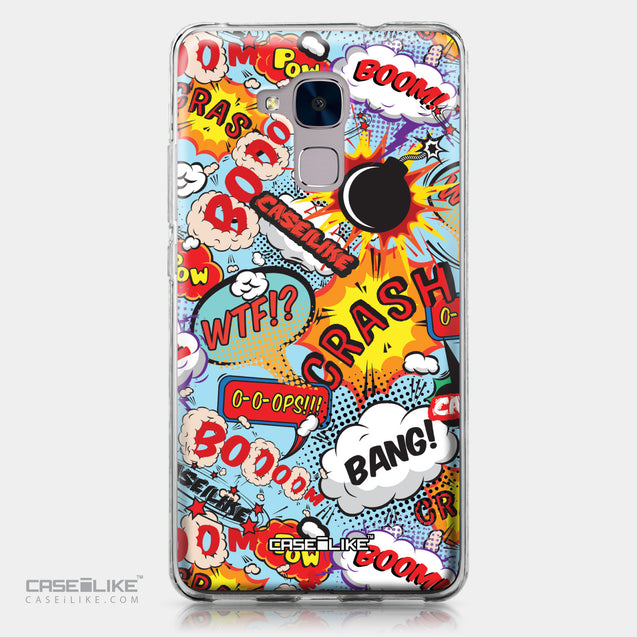 Huawei Honor 5C / Honor 7 Lite / GT3 case Comic Captions Blue 2913 | CASEiLIKE.com