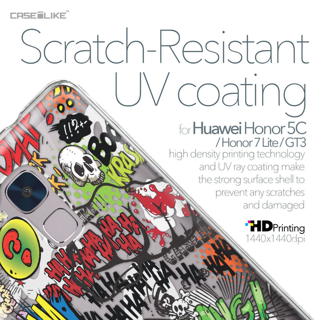 Huawei Honor 5C / Honor 7 Lite / GT3 case Comic Captions 2914 with UV-Coating Scratch-Resistant Case | CASEiLIKE.com