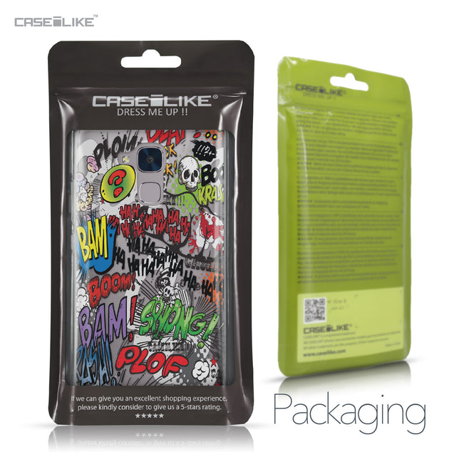 Huawei Honor 5C / Honor 7 Lite / GT3 case Comic Captions 2914 Retail Packaging | CASEiLIKE.com
