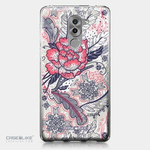 Huawei Honor 6X / Mate 9 Lite / GR5 2017 case Vintage Roses and Feathers Beige 2251 | CASEiLIKE.com