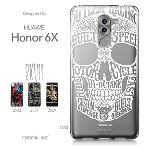 Huawei Honor 6X / Mate 9 Lite / GR5 2017 case Art of Skull 2530 Collection | CASEiLIKE.com