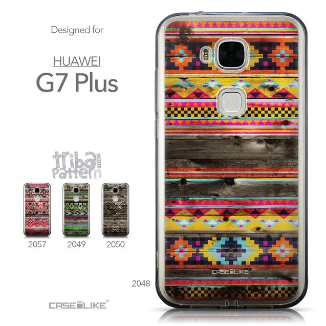 Collection - CASEiLIKE Huawei G7 Plus back cover Indian Tribal Theme Pattern 2048