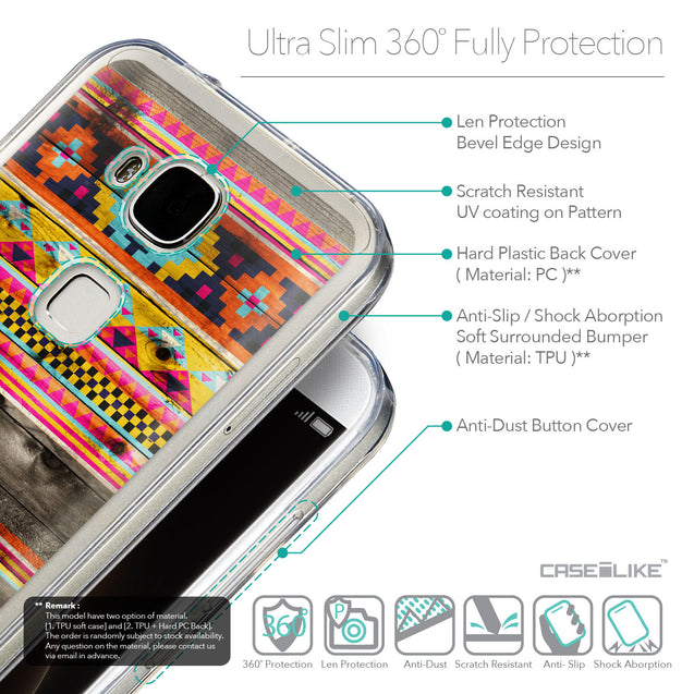Details in English - CASEiLIKE Huawei G7 Plus back cover Indian Tribal Theme Pattern 2048