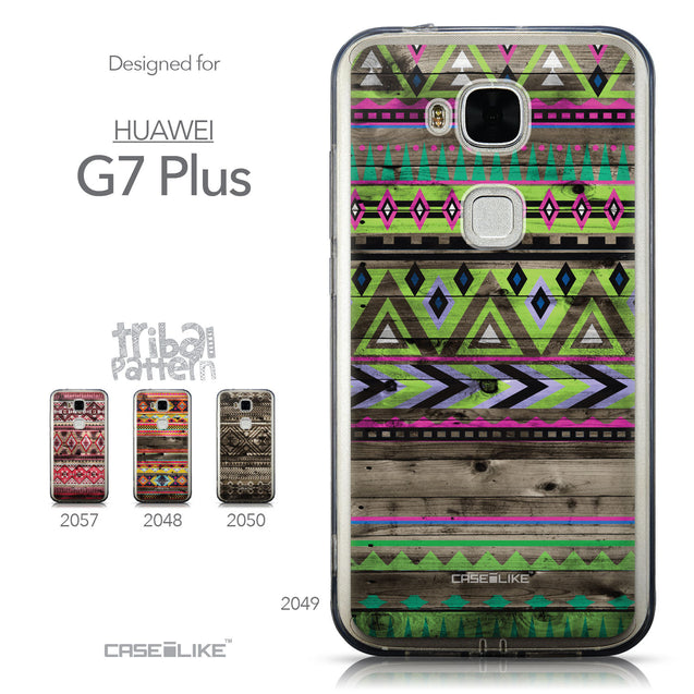 Collection - CASEiLIKE Huawei G7 Plus back cover Indian Tribal Theme Pattern 2049