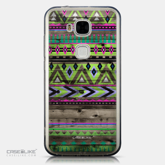 CASEiLIKE Huawei G7 Plus back cover Indian Tribal Theme Pattern 2049