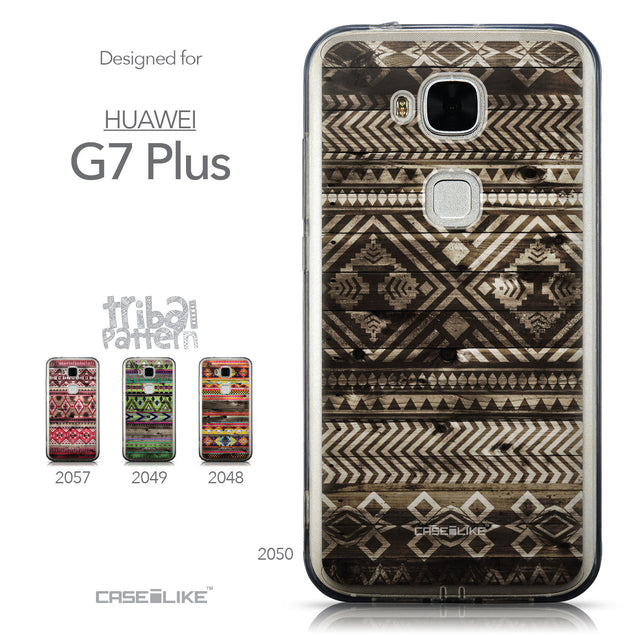 Collection - CASEiLIKE Huawei G7 Plus back cover Indian Tribal Theme Pattern 2050