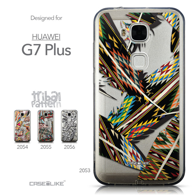 Collection - CASEiLIKE Huawei G7 Plus back cover Indian Tribal Theme Pattern 2053