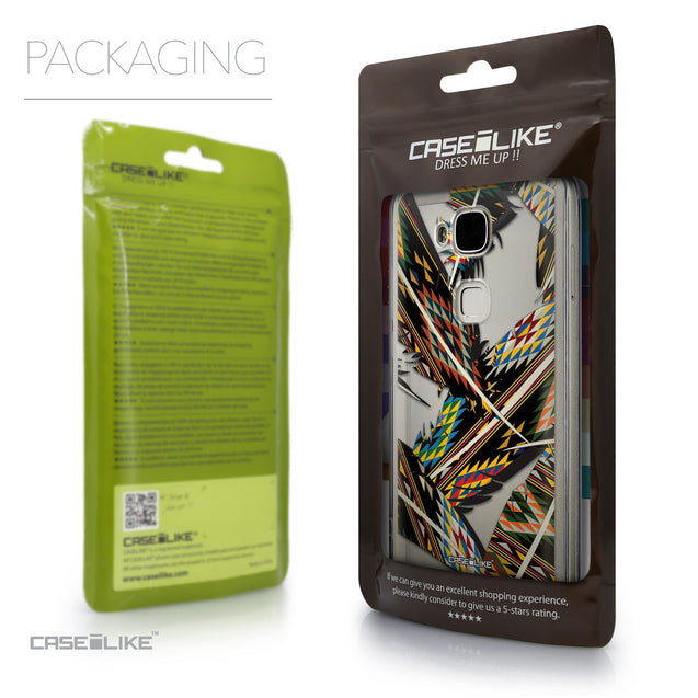 Packaging - CASEiLIKE Huawei G7 Plus back cover Indian Tribal Theme Pattern 2053