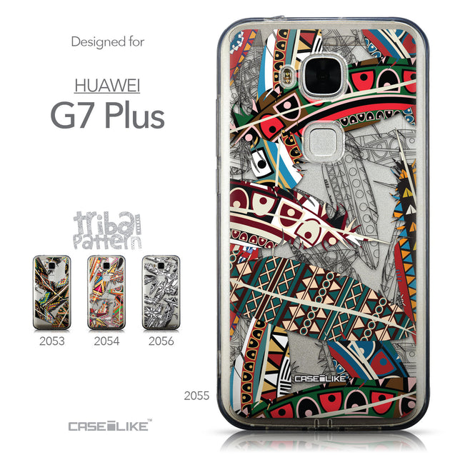 Collection - CASEiLIKE Huawei G7 Plus back cover Indian Tribal Theme Pattern 2055