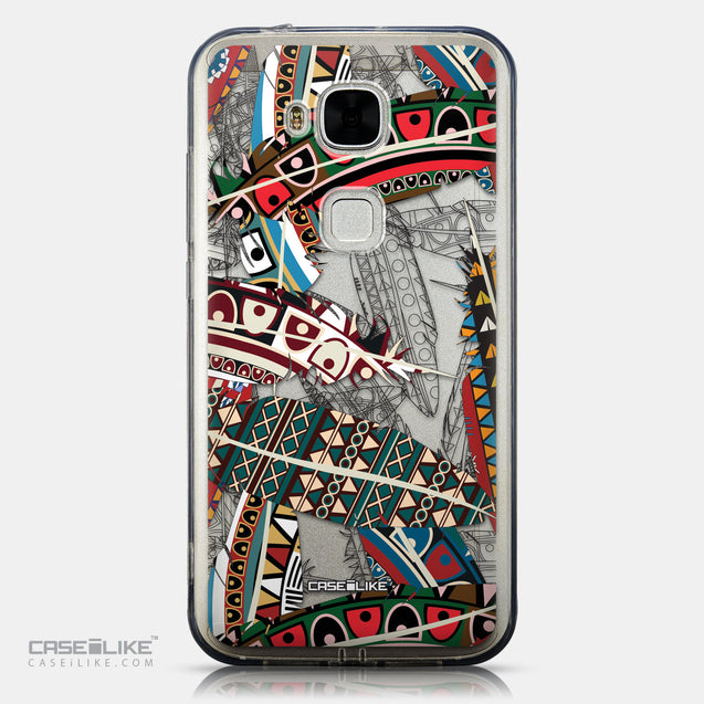 CASEiLIKE Huawei G7 Plus back cover Indian Tribal Theme Pattern 2055